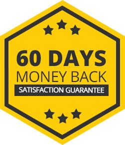 60 days money back gurantee